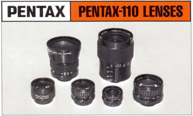 Pentax 110 Lenses Manual Cover