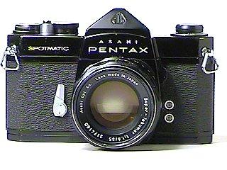 Asahi Pentax Black Spotmatic