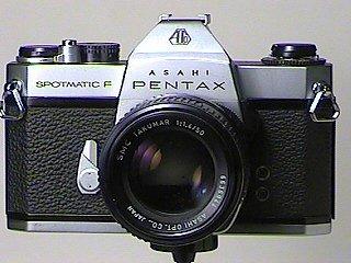 Spotmatic F with SMC 50mm f/1.4