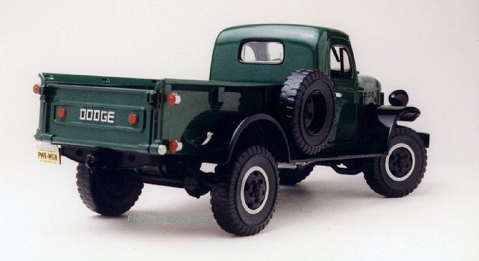 1946 Dodge Power Wagon >> Die Cast Pro - 1946 Dodge Power Wagon