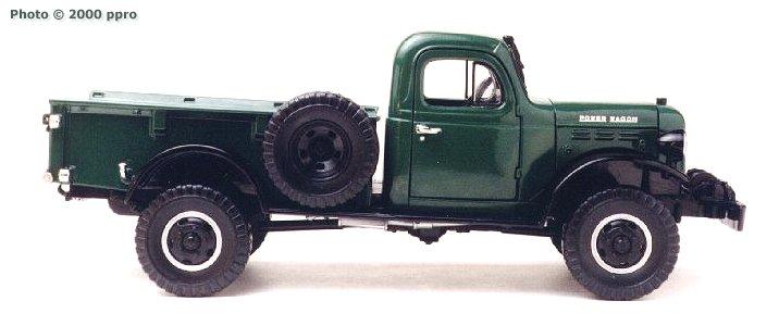 Die Cast Pro 1946 Dodge Power Wagon