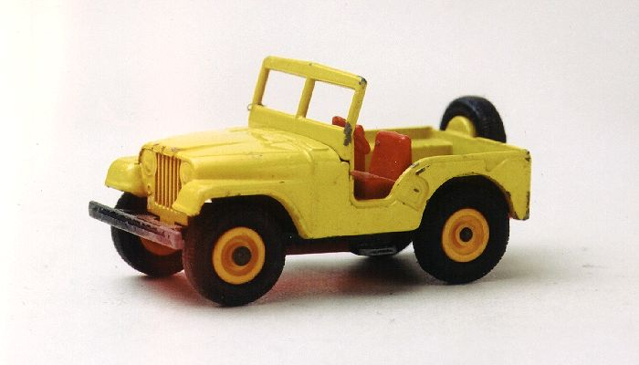 Die Cast Pro Old Matchbox Jeep