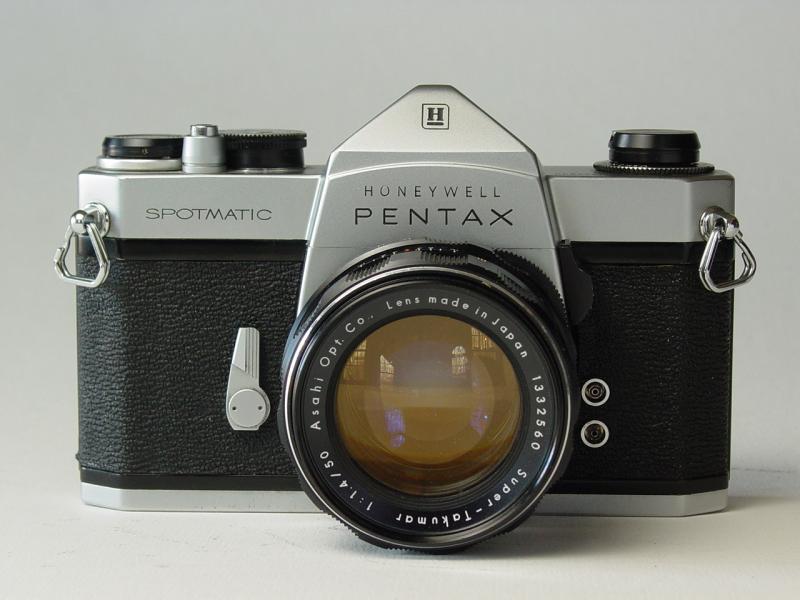 Die Cast Pro - Honeywell Spotmatic with Super-Takumar 50mm f/1 4